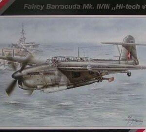 SpecialHobby SH48028 FAIREY BARRACUDA MK-II/III Modellismo