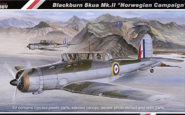 SpecialHobby SH48046 Blackburn Skua Mk.I Modellismo