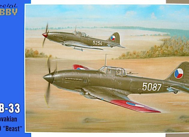 """SpecialHobby SH48047 Avia B-33 Ceco II-10 """"Beast"""" Modellismo"""