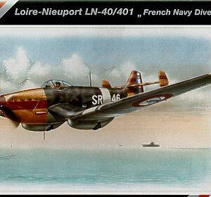 SpecialHobby SH48058 Loire Nieuport LN 40/401 Modellismo
