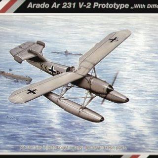SpecialHobby SH48061 Arado Ar 231 V-2 Modellismo