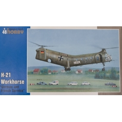 SpecialHobby SH48088 H-21 France/Germany Modellismo