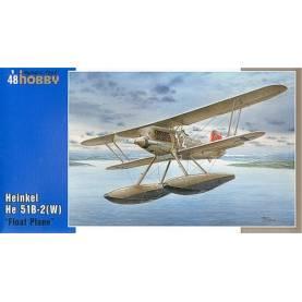 SpecialHobby SH48089 Heinkel 51B Modellismo