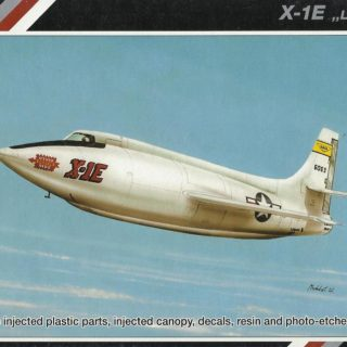 SpecialHobby SH72158 X-1E Modellismo