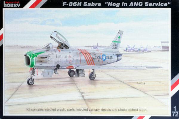 SpecialHobby SH72167 F-86H SABRE Modellismo