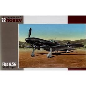 """SpecialHobby SH72182 Fiat G.56 """"prototipo DB 603"""" Modellismo"""
