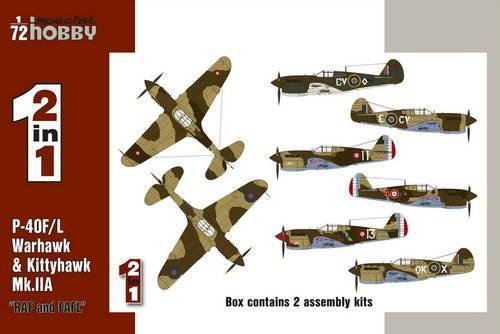 SpecialHobby SH72211 P-40 F/L Kittyhawk Mk Modellismo