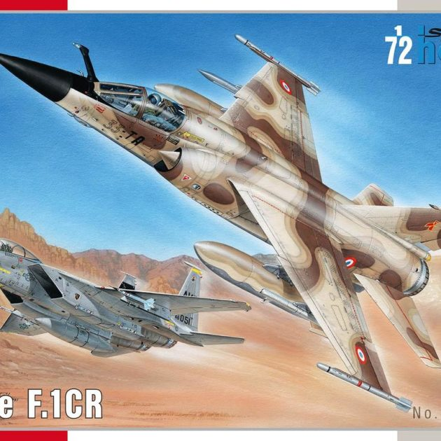 SpecialHobby SH72347 Mirage F.1 CR Modellismo