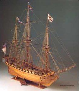 COREL SM11 Nave in legno HMS UNICORN Modellismo Navale