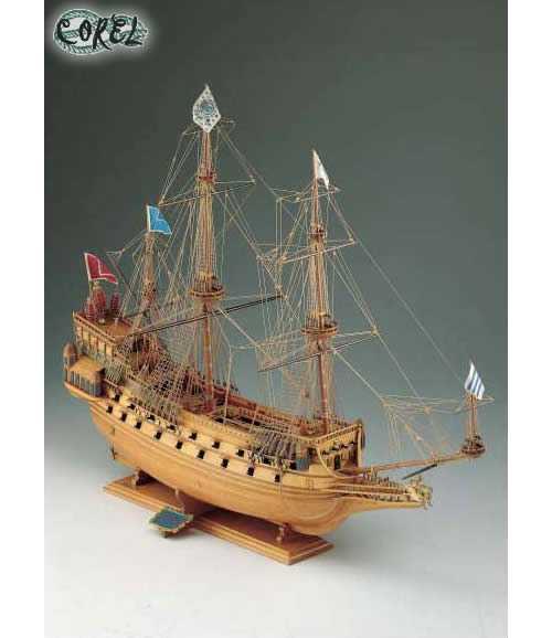 COREL SM17 Nave in legno COURONNE Modellismo Navale
