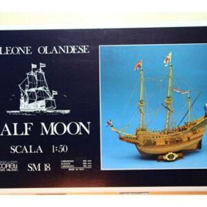 COREL SM18 Nave in legno HALF MOON Modellismo Navale