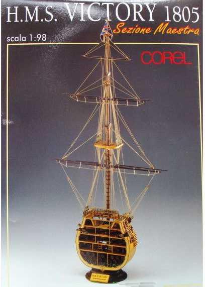 COREL SM24 KIT SEZIONE HMS VICTORY Modellismo Navale