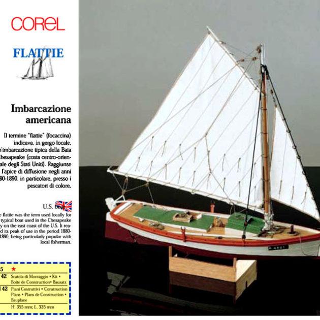 COREL SM42 Nave in legno FLATTIE Modellismo Navale
