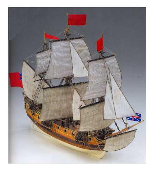 COREL SM60 Nave in legno PEREGRINE Modellismo Navale