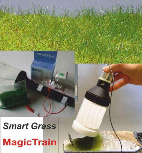 Magic Train SmartGrass Pistola elettrostatica per stendere l'erb Modellismo