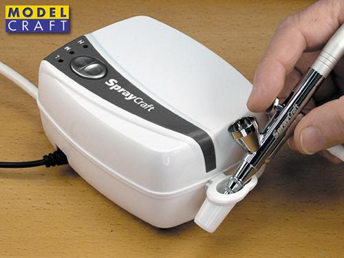 Modelcraft SP30KC Areografo con mini compressore