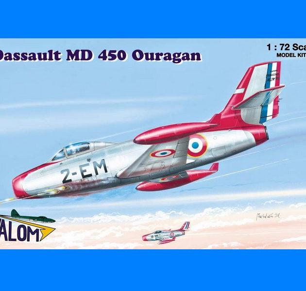 SpecialHobby V72059 Dassault MD 450 Ouragan Modellismo