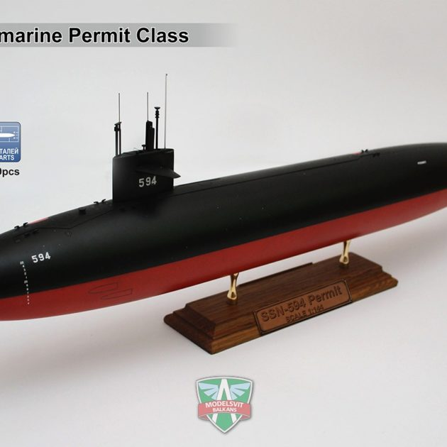 Modelsvit VIT1402 USS PERMIT (SSN-594) Modellismo