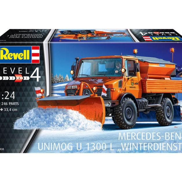 Revell 07438 Unimog U1300L Winterdienst