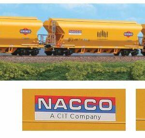 BlackStar 10001 Set 3 carri tramoggia Nacco-Veronesi