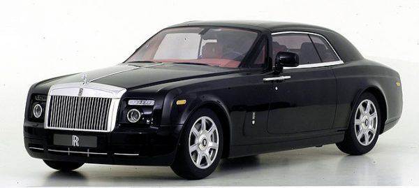 TSM-MODEL 11082 ROLLS ROYCE PHANTOM COUPE' DIAMOND BLACK 2009