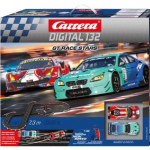 Carrera 20030005 GT RACERS STARS - Set Pista Digitale WIRELESS