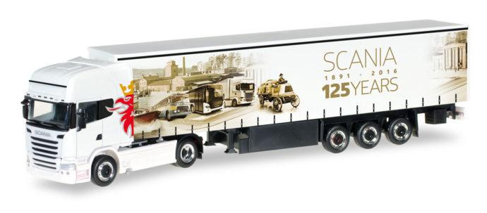 "Herpa 306461 Scania R 13 TL  ""125 anni Scania"""