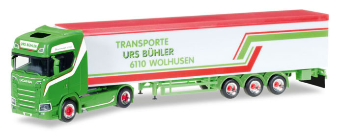 "Herpa 307604 Scania CS 20 HD V8 ""Urs Buhler"""