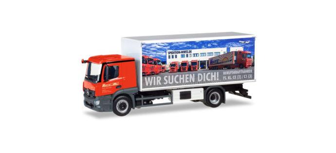 """Herpa 309295 Mercedes Benz Actros """"Wirtz"""""""