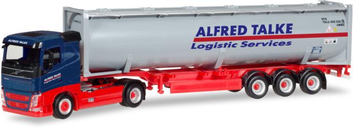 "Herpa 309363 Volvo FH FD Cistrna container ""Alfred Talke"""