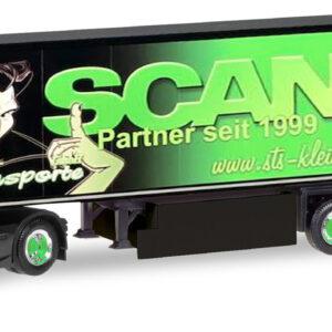 "Herpa 309370 Scania CS HD Cassonato ""GS Transporter"""