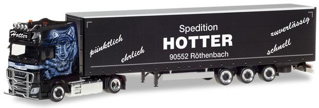 "Herpa 309707 DAF XF SSC Euro 6 ""Hotter"""