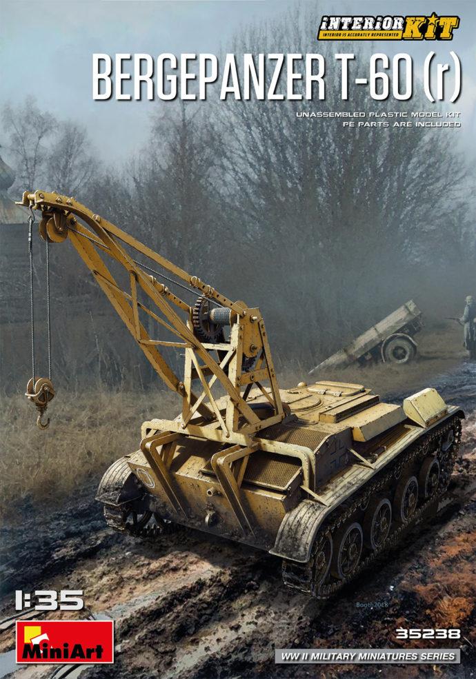 MiniArt 35238 BERGEPANZER T-60 ( r ) INTERIOR KIT