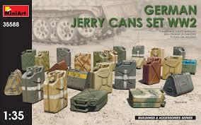 MiniArt 35588 GERMAN JERRY CANS SET WW2