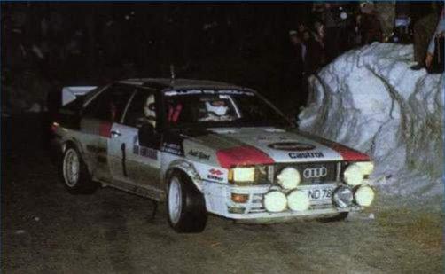 ITALERI 3642 Audi Quattro Rally