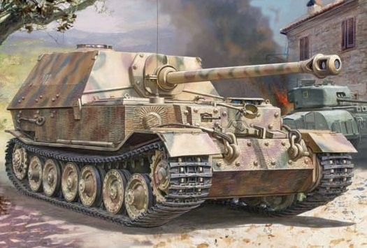 "ZVEZDA 3659 Elefant"" Sd.Kfz.184 German heavy tank destroyer"