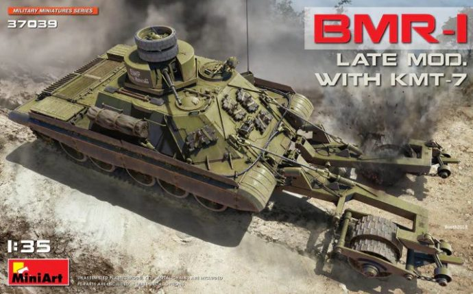 MiniArt 37039 BMR-1 LATE MOD. WITH KMT-7