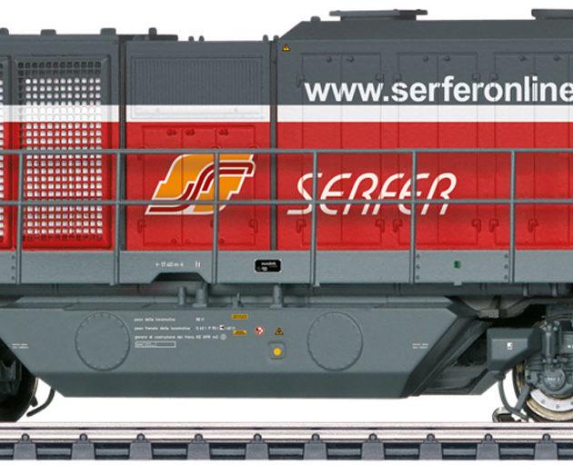 Marklin 37215 Locomotiva diesel Serfer G 2000 BB Vossloh