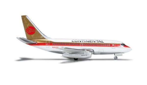 Herpa 523981 CONTINENTAL AIRLINES BOEING 737