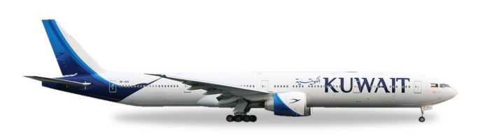 Herpa 530750 Boeing 777-300er Kuwait Airways