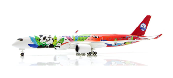 Herpa 531474 Airbus A350-900 Sichuan Airlines