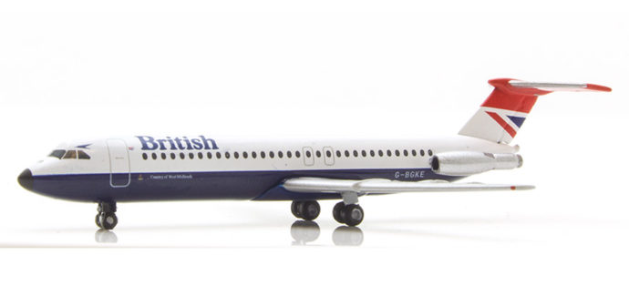 Herpa 531733 BAC 1-11-500 British Airways Negus color