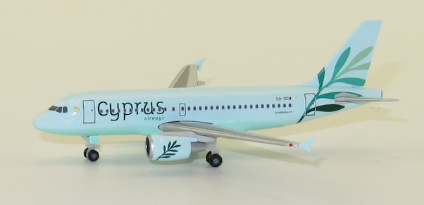 Herpa 531757 Airbus A319 Cyprus Airways