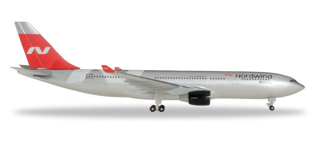 Herpa 531771 Airbus A330-200 Nordwind Airlines