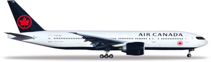 Herpa 531801 Boeing 777-200LR Air Canada
