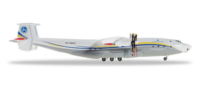 "Herpa 532648 Antonov AN-22 Antei ""Antonov Airlines"""