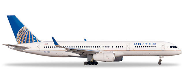 Herpa 532846 Boeing 757-200 United Airlines
