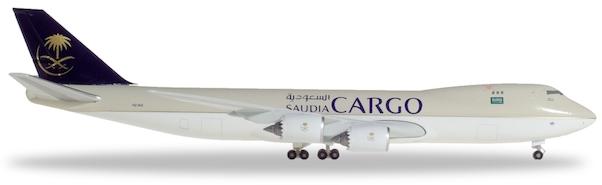 Herpa 532891 Boeing 747-8F Saudia Cargo