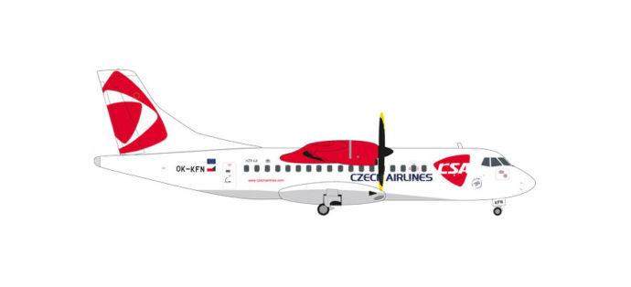 """Herpa 559256 ATR-42-500 CSA Czech Airlines """"Lizina"""""""