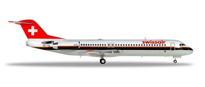 Herpa 559386 Fokker 100  Swissair